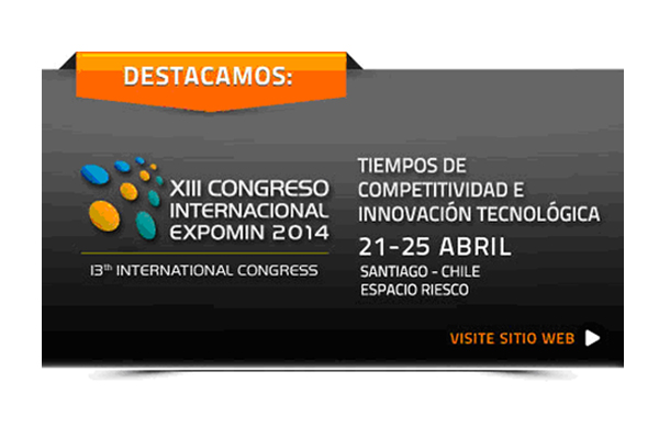 Kingdomine will attend EXPOMIN 2014 in Santiago ,Chile